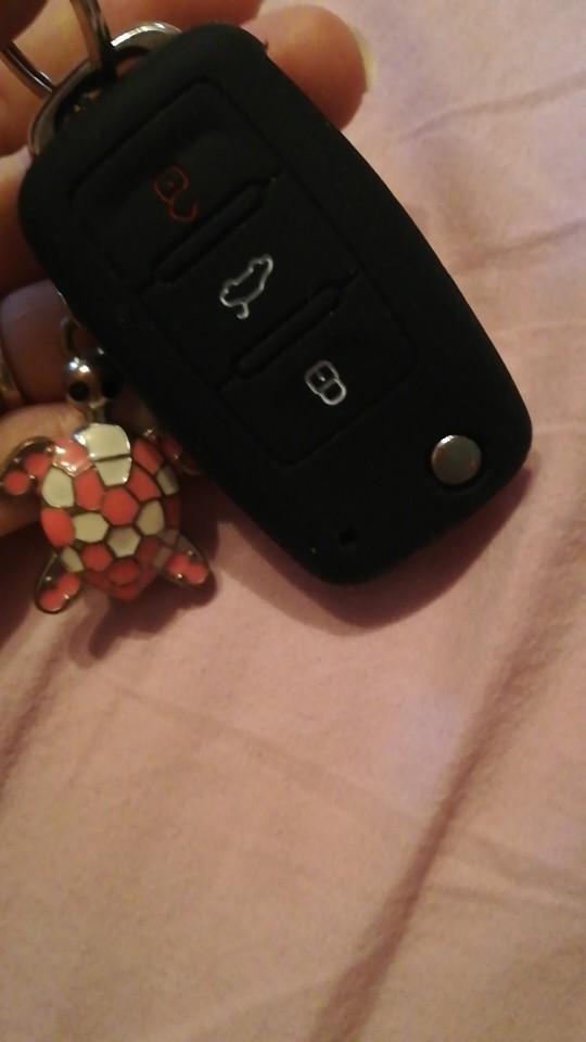 Silicone car key cover case for Volkswagen VW polo passat b5 golf 4 5 6 jetta mk6 tiguan Gol CrossFox Plus Eos Scirocco Beetle