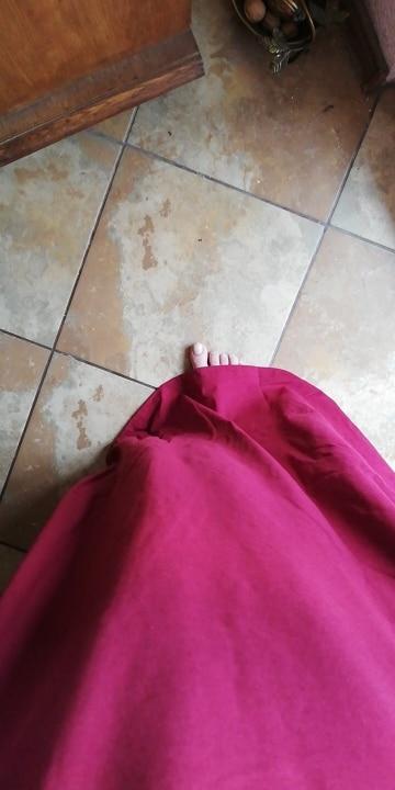 Long Maxi Dress Women Half Sleeve Solid Round Neck Vintage Casual Loose Long Elegant Robe Bodycon Vestidos Plus Size photo review