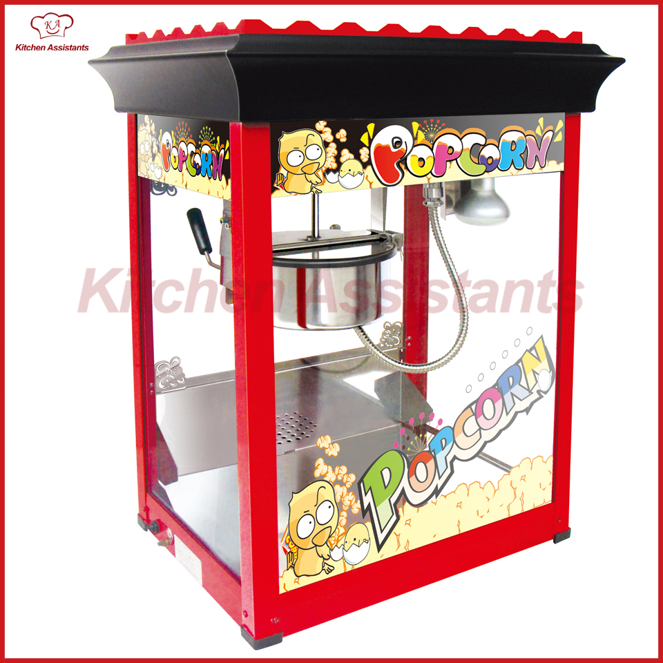 VBG818 Commercial Electric Professional automatic popcorn maker machine vbg1708 professional automatic popcorn machine maker with big volume 8oz series