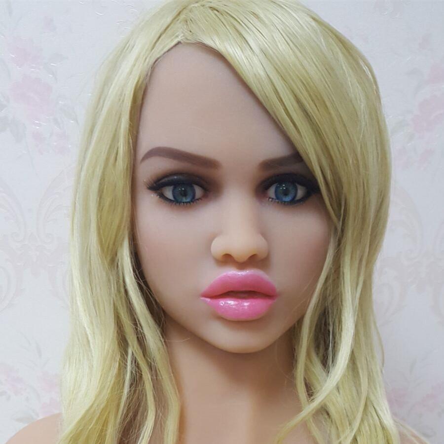 #66 oral sex doll head for big size 135cm/140cm/148cm/153cm/152cm/155cm/158cm/163cm/165cm/170cm