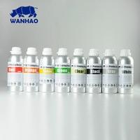 UV 405nm фотополимер для DPL/LCD принтера | Фотополимерная смола для D7 принтера Ванхао 1000 мл | 6 цветов (Черный, белый, зеленый, оранжевый, серый, проз