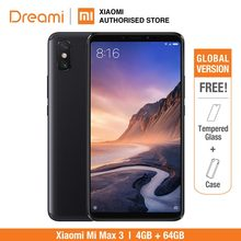Global Version Xiaomi Mi Max 3 64GB ROM 4GB RAM (Brand New and Sealed) mi max3(Hong Kong,China)