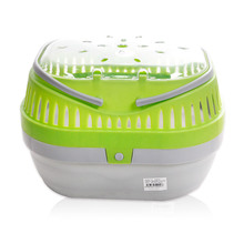 Small Animals Carrier Pet Outdoor Portable Rabbit Basket Hamster Cage Go Out Box With Ventilation Window