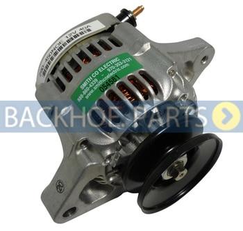 Alternator 129423-77200 12V for John Deere Tractor 3120 3320 3520 4200 Yanmar 4TNV88 Engine