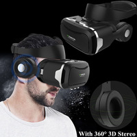 VR Glasses Virtual Reality Glasses VR Headset Box Glasses 3D Imax Eye Travel Headphone for Iphone Xiaomi Sony LG Huawei Samsung