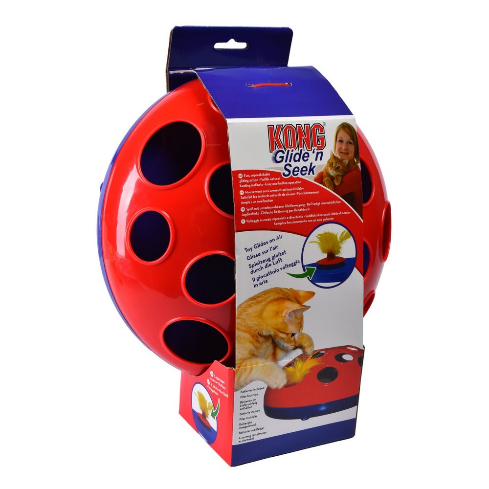 Cat toys KONG toy track for cats GlidenSeek battery-operated diameter 24 cm