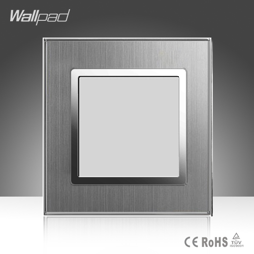 Ground lamp Wallpad Hotel 110-220V Silver Satin Metal EU UK Ground Floor LED Lamp
