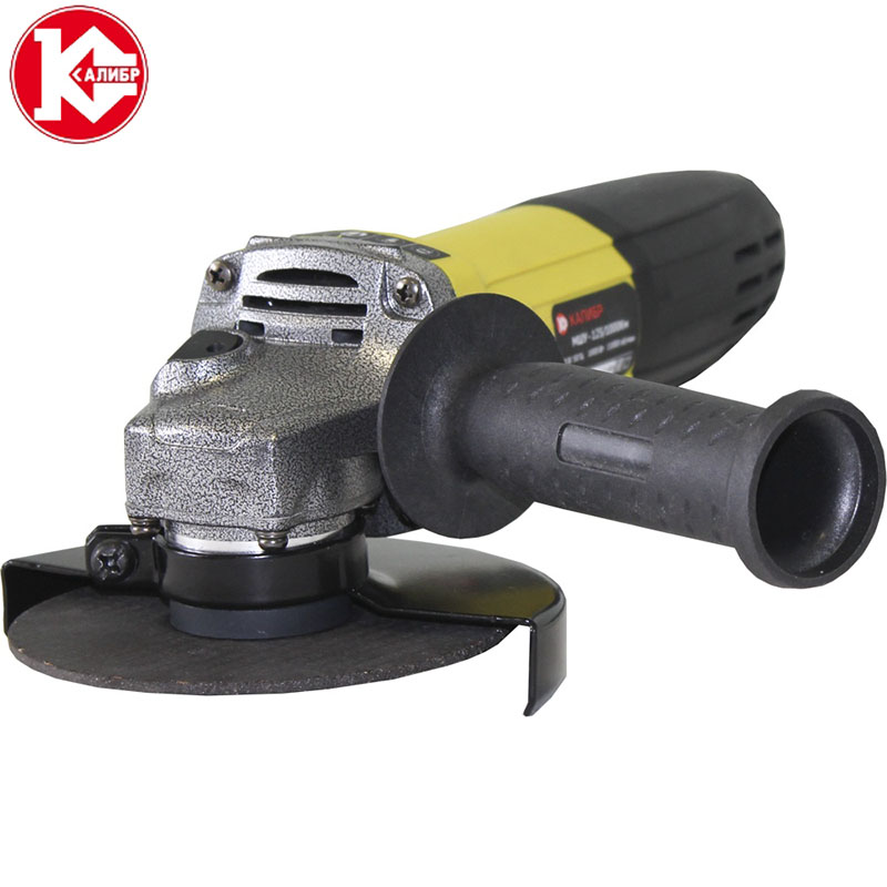 Kalibr MSHU-125/1000Km Angle Grinder Big Power Multifunctional Angle Grinder Polishing Grinding Machine For Cutting And Grinding kalibr mshu 125 1055 angle grinder grinding machine metal polisher angular power tool metal and wood cutting sanding polishing