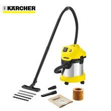 Пылесос для сухой и влажной уборки Karcher WD 3 P Premium (Мощность всасывания 1000 Вт, объём пылесборника 20 л, ручка для горизонтального перемещения, сбор жидкости, ударопрочный корпус, функция выдува)