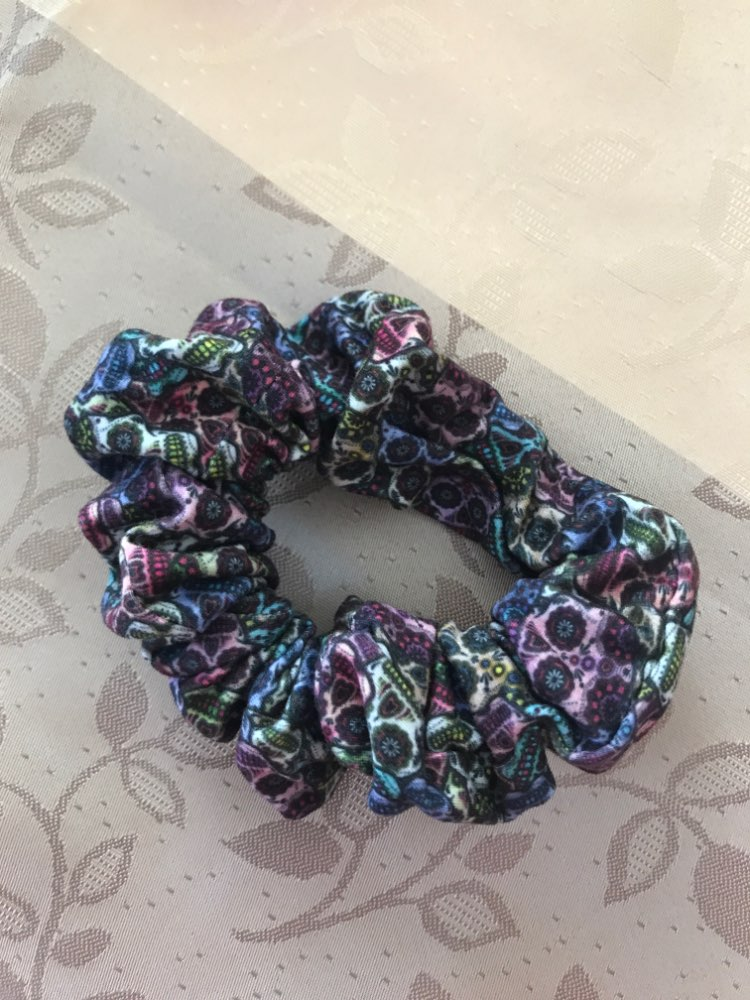 Zohra Fashion Young Hair Accessories 3D Digital Printing Scrunchy Women Hair Scrunchies Elastic Hair Bands Headwear
