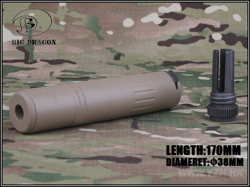 Big Dragon AAC M4 2000 Silencer Deluxe CNC and anodize process