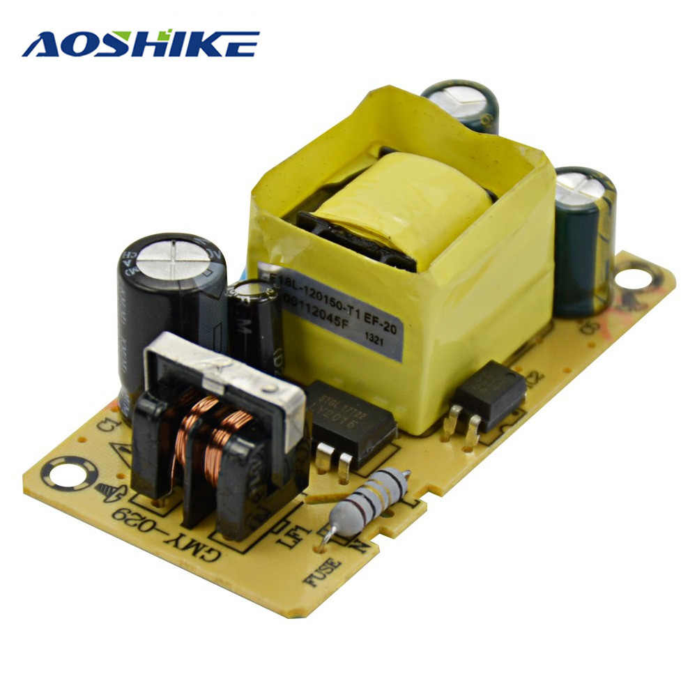 AOSHIKE 1Pc Inverter 12V1.5A Power Supply DC Adapter AC100-265V Input Board