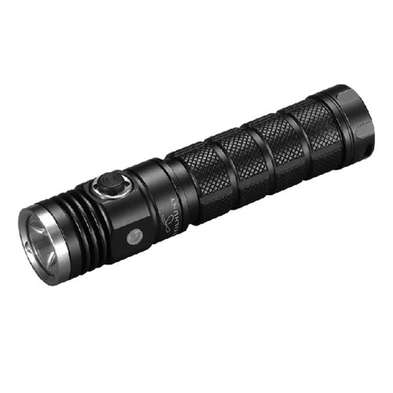 SKILHUNT DS20 Super bright Waterproof XM-L2 5 Modes 480 Lumens LED Flashlight Torch By 18650/14500/CR123A Battry For Camping skilhunt ds15 cree xm l2 led edc waterproof flashlight torch 5 modes 240lm 1 x 14500 or aa battery