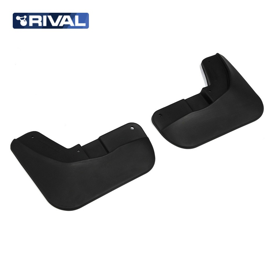 For Lada Vesta CROSS 2018-2019 front mudguards 2 pcs/set Mud Flaps Splash Guard Rival 26006003 high quality