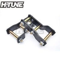 H TUNE 4x4 Accesorios Rear Suspension Spring Extended 2 Greasable Shackles Kits For RANGER 2012+/BT50 2012+