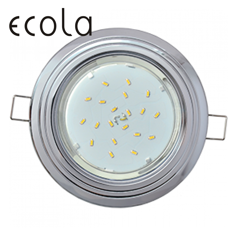 Фото - Ecola GX53-H4 slim recessed Ceiling Downlight Round Spotlight Hole Spot lamp GX53 Sockets 2 circle 36x106mm contrast spot circle dress