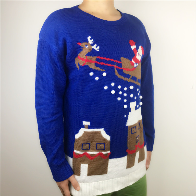 Light Up Christmas Sweater Crazy Bells Ugly
