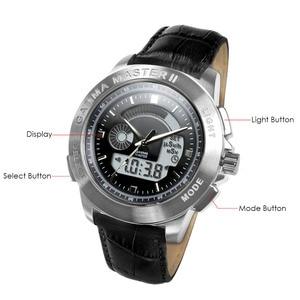 Image 2 - PM1208 bracelet en cuir poignet nucléaire détecter Gamma Master II, montre à rayonnement calibré par Polimaster Ltd. (biélorussie)