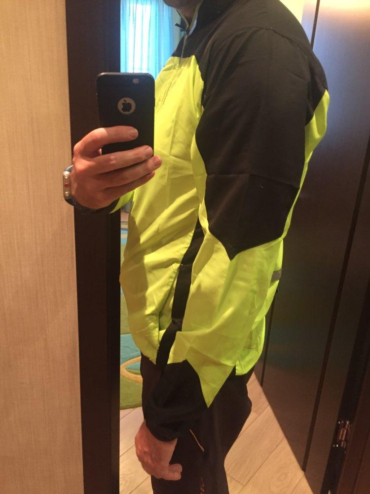 ROCKBROS Reflective Breathable Bike Bicycle Cycling Cycle Long Sleeve Wind Coat Windcoat Windproof Quick Dry Jersey Jacket