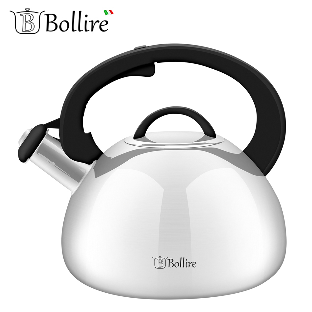 Water Kettles BOLLIRE BR-3006 teapot with a whistle cookware for kitchen devices household