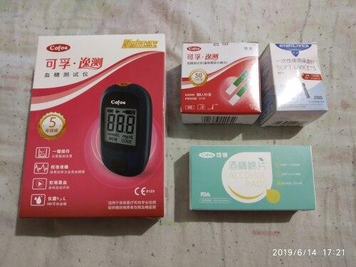 Glicose no sangue Agulhas Diabetes Medidor