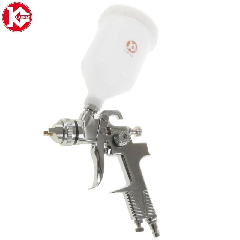 Pneumatic air spray gun KRP-1,4/0,6VB pinkiou dual action 0 2 0 3 0 5mm needle airbrush for painting cars air brush spray gun aerograph kit akvagrim tattoo for body