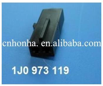 Envío Gratis 2pin 1,5mm auto eléctrico luz en el maletero conector de clavija 1J0 973 119 1J0973119