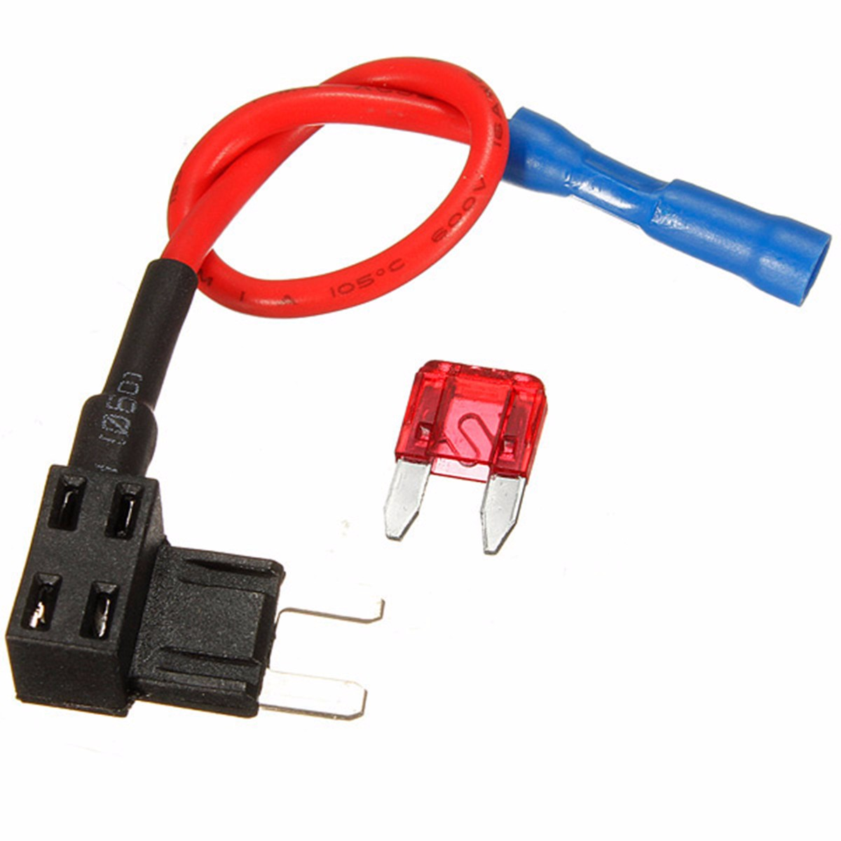 Add A Circuit Standard Mini Micro Blade Fuse Boxes Holder Piggy Panel With Addacircuit Back Fuses Tap Christmas Gifts 2018