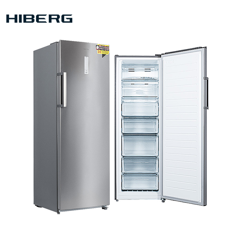 Freezer Function Of The Fridge HIBERG FR-31RD NFX Home Appliance Freezer Kitchen Appliances Refrigerator  Refrigerator For Home