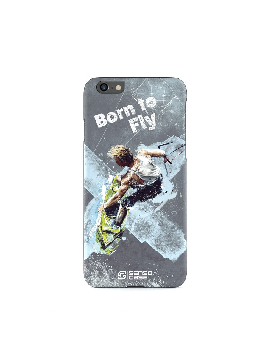 Custodia protettiva SensoCase Kiteboarding per Apple iPhone