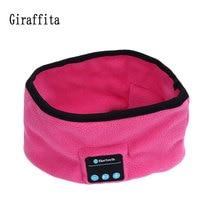 Giraffita унисекс Smart Беспроводной Bluetooth Кепки теплые Для мужчин и Обувь для девочек оголовье спорт Бег 4 цвета Йога Банданы для мужчин