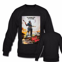 Mad Max poster Mens Nero Hoodies Unisex Felpe A Manica Lunga Grande Formato S M L XL XXL XXXL