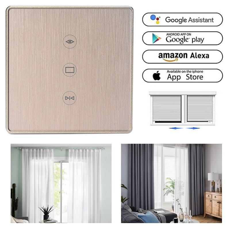 WiFi Smart Curtain Switch Smart Life Tuya For Electric