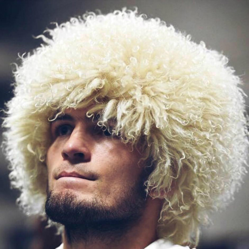 His Cap Papaha Habib Nurmagomedov The Original Caucasian National Etnic Headwear Papakha Hat 000-652
