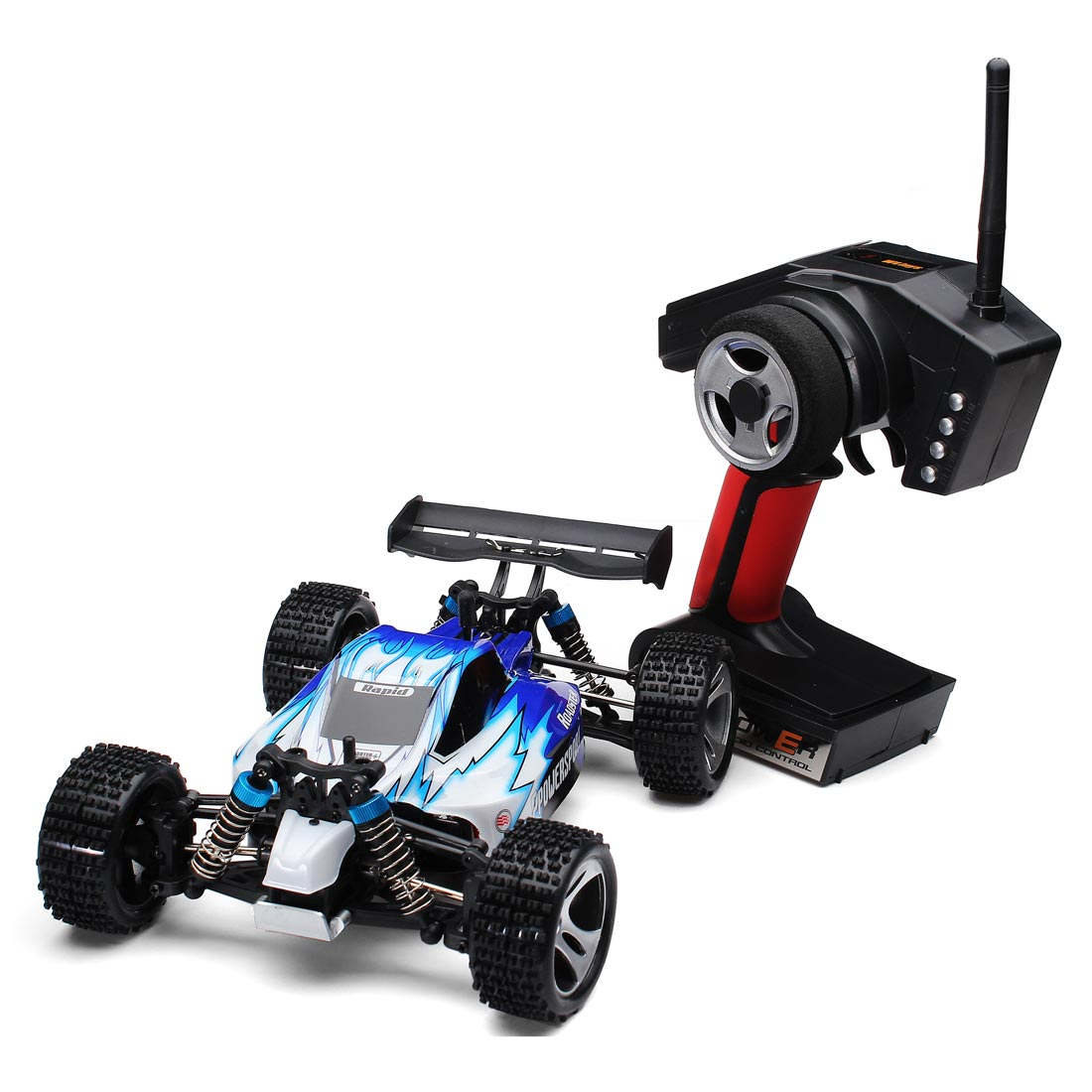 Wltoys A959 Rc Car 1/18 2.4Gh 4WD Off-Road Buggy With TransmitterWltoys A959 Rc Car 1/18 2.4Gh 4WD Off-Road Buggy With Transmitter