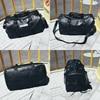 NEWBOLER Gym Bag Leather Women Fitness Shoe Compartment Men Duffle Shoulder Bags Waterproof Travel Training Large Sport Handbag  5