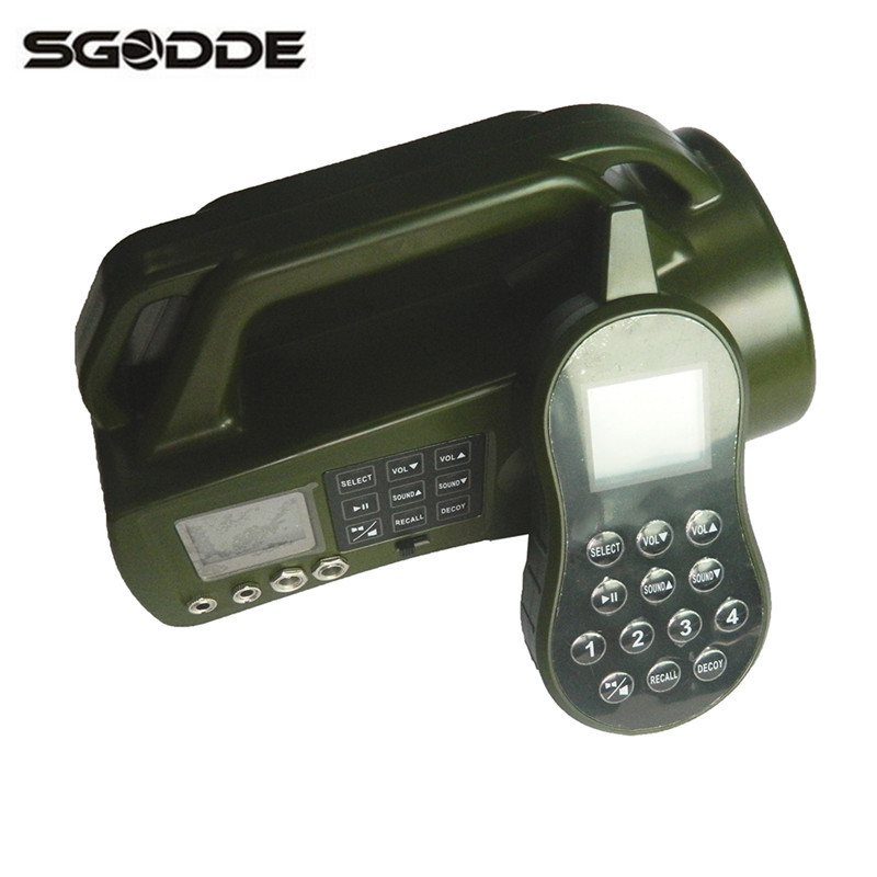 New CP-550 Hunting Decoy Device Electronic Game Caller Hunting Shooting mp3 Bird Call Built-in 403 Animal Sounds and 4 Hotkeys 2 receivers 60 buzzers wireless restaurant buzzer caller table call calling button waiter pager system