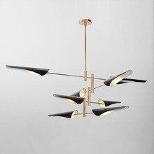 Nordic LED post-modern hanging lights creative Fixtures Novelty living room chandelier bedroom restaurant chandeliers