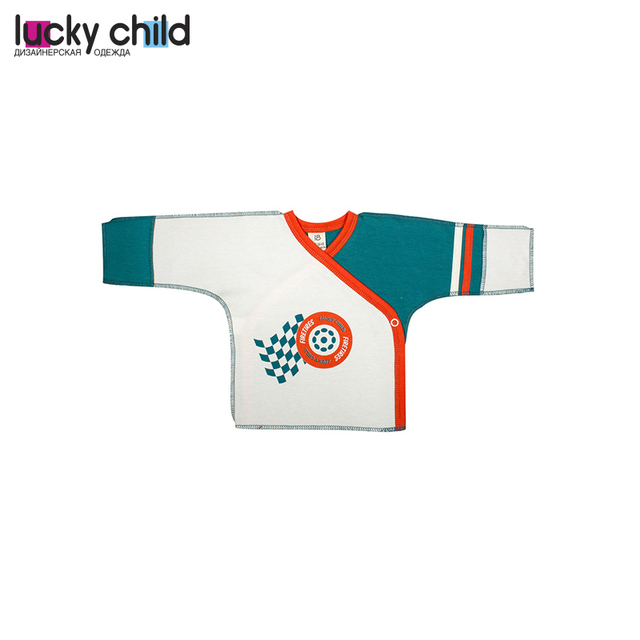 Распашонка детская LUCKY CHILD для мальчиков 21-7