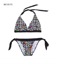 MKCARIVE Brand Brazilian Bikini Swimwear Swimsuit Women Sexy Push UP Micro Bikinis Set Swimming Bathing Suit