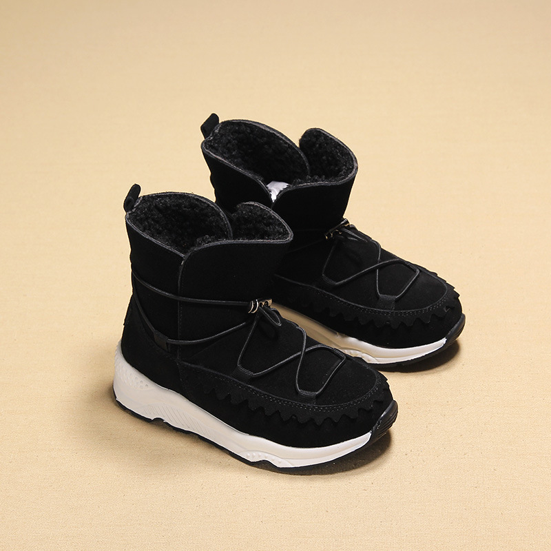 Children's Rubber Boots For Girls Boys Snow Boots Warm Girls Boot Plush Sport Shoes Fur Lining Kids Boot Soft Children Shoes kelme 2016 new children sport running shoes football boots synthetic leather broken nail kids skid wearable shoes breathable 49
