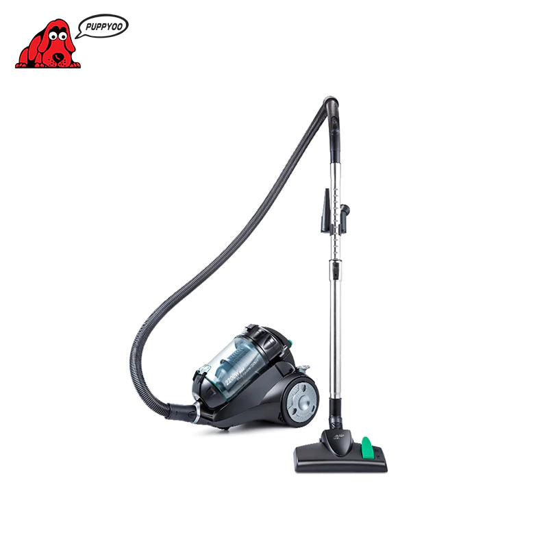 Canister Vacuum Cleaner For Home Puppyoo P9 Aspirator,Powerful Suction 2200W,Cyclone Portable household Cleaning Appliances vacuum cleaner bosch bch6ath18 home portable rod powerful vacuum cleaner handheld dust collector stick zipper