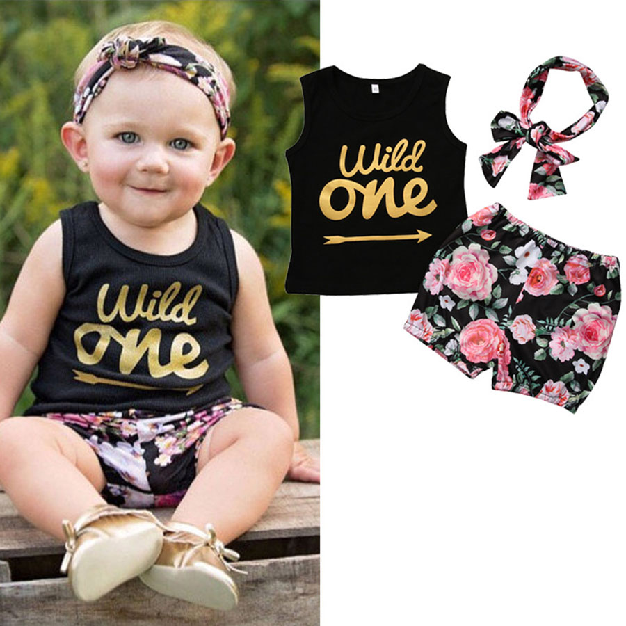 Trajes de algodón para el verano recién nacido Conjunto de ropa - Ropa de bebé