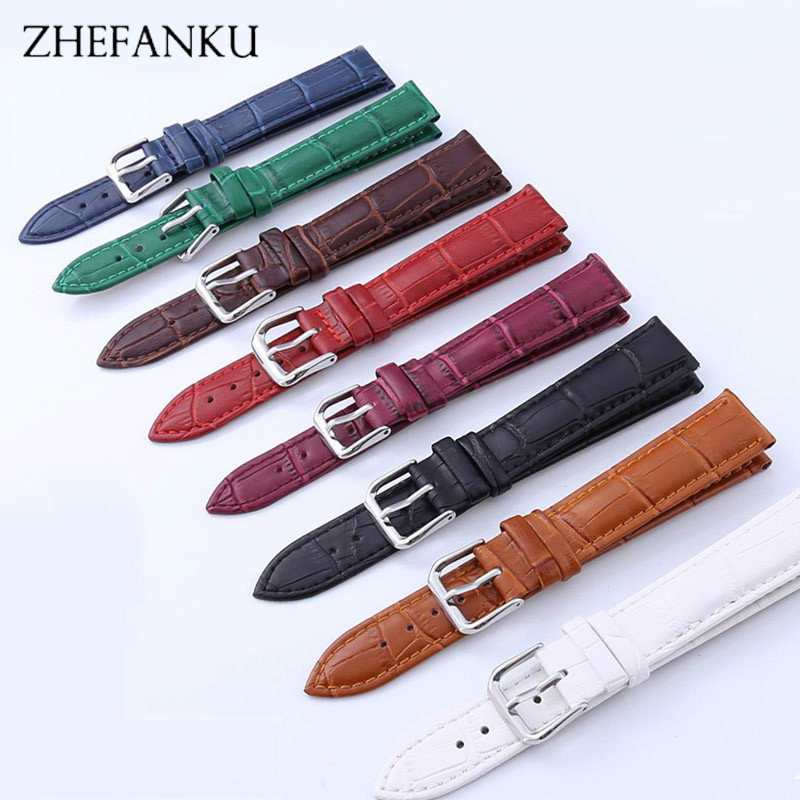 New Watch Bracelet Belt Black Watchbands PU Leather Strap Watch Band 12 14 16 18 20 20 22 24 mm Watch Accessories Wristband цена и фото