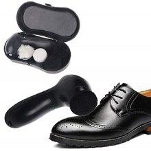 Электрический башмак польская машина ручной автоматический обуви блеск машина обуви Электрический шлифовальщик шоу очиститель с батареей 5AA