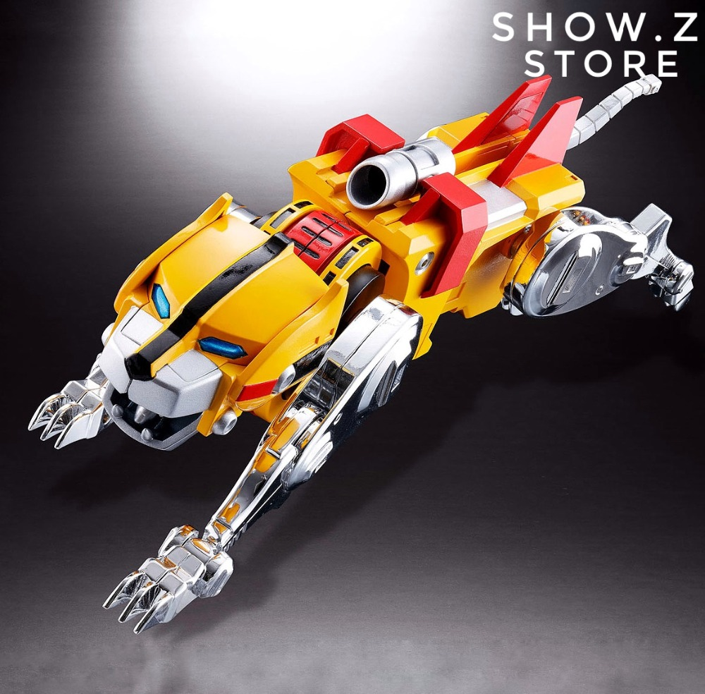 [Show.Z Store] Fantasy Jewel FJ-BSW04 Yellow Lion Voltron Defender of the Universe Action Figure vixen return of lion