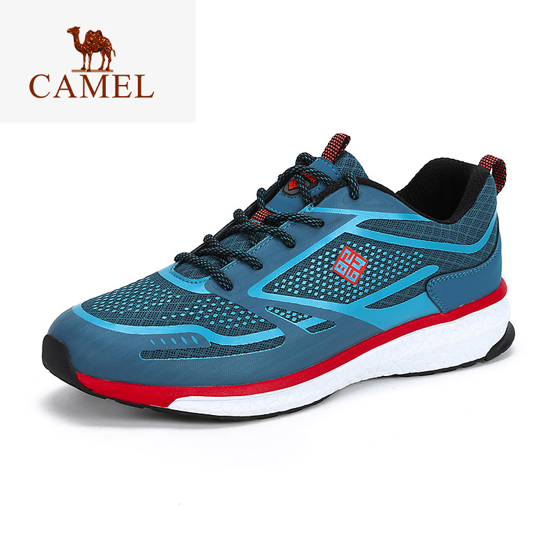 CAMEL 8264 Men Women Hiking Shoes Breathable Outdoor Walking Jogging Shoes Comfortable Hiking Trekking Sneakers
