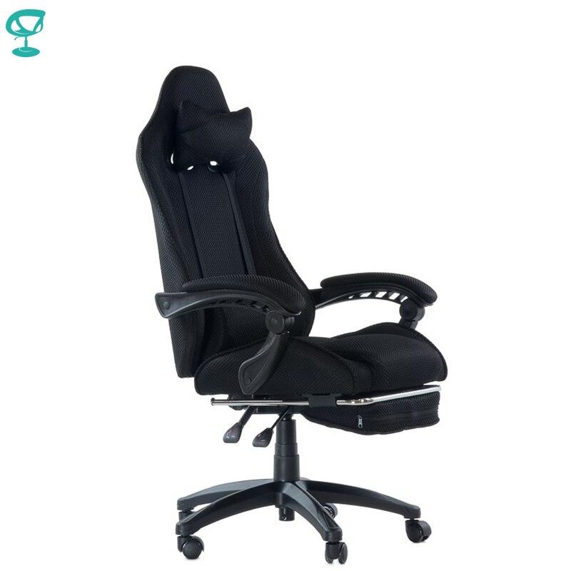 95268 Barneo K-40 Черное кресло игровое кресло компьютерное кресло для кибер-спорта высокая спинка сетчатая ткань компьютерные кресла для игр крес...