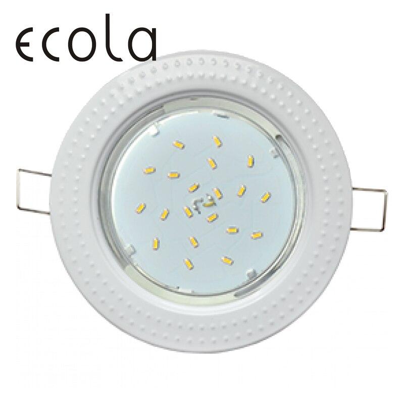 Фото - Ecola GX53-H4 Dual Color slim recessed Ceiling Downlight Round Spotlight Hole Spot lamp GX53 Sockets Chasing 36x106mm slim hole patchwork leggings