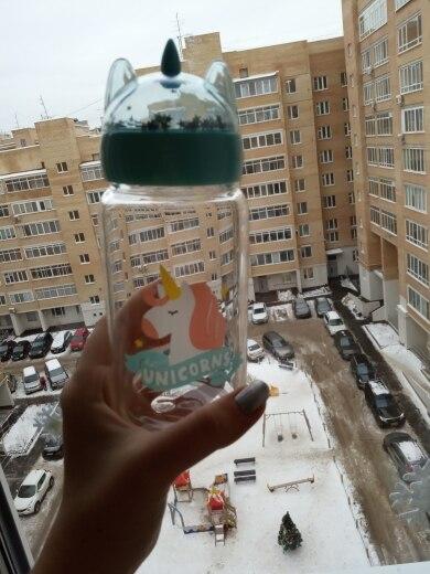 Creative Unicorn Water Bottle photo review